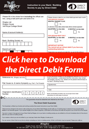 Set up a Direct Debit now